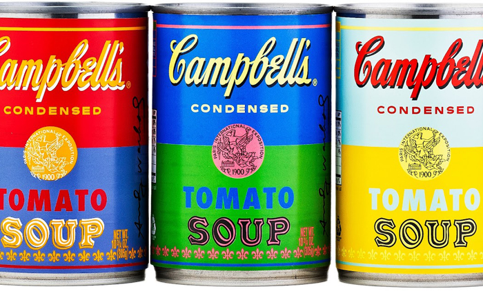 campbell's soup cans andy warhol